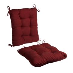 2 Piece Rocking Chair Cushions Herman Miller Office Chairs Costco Faux Suede Cushion Set Christmas Tree Shops And That