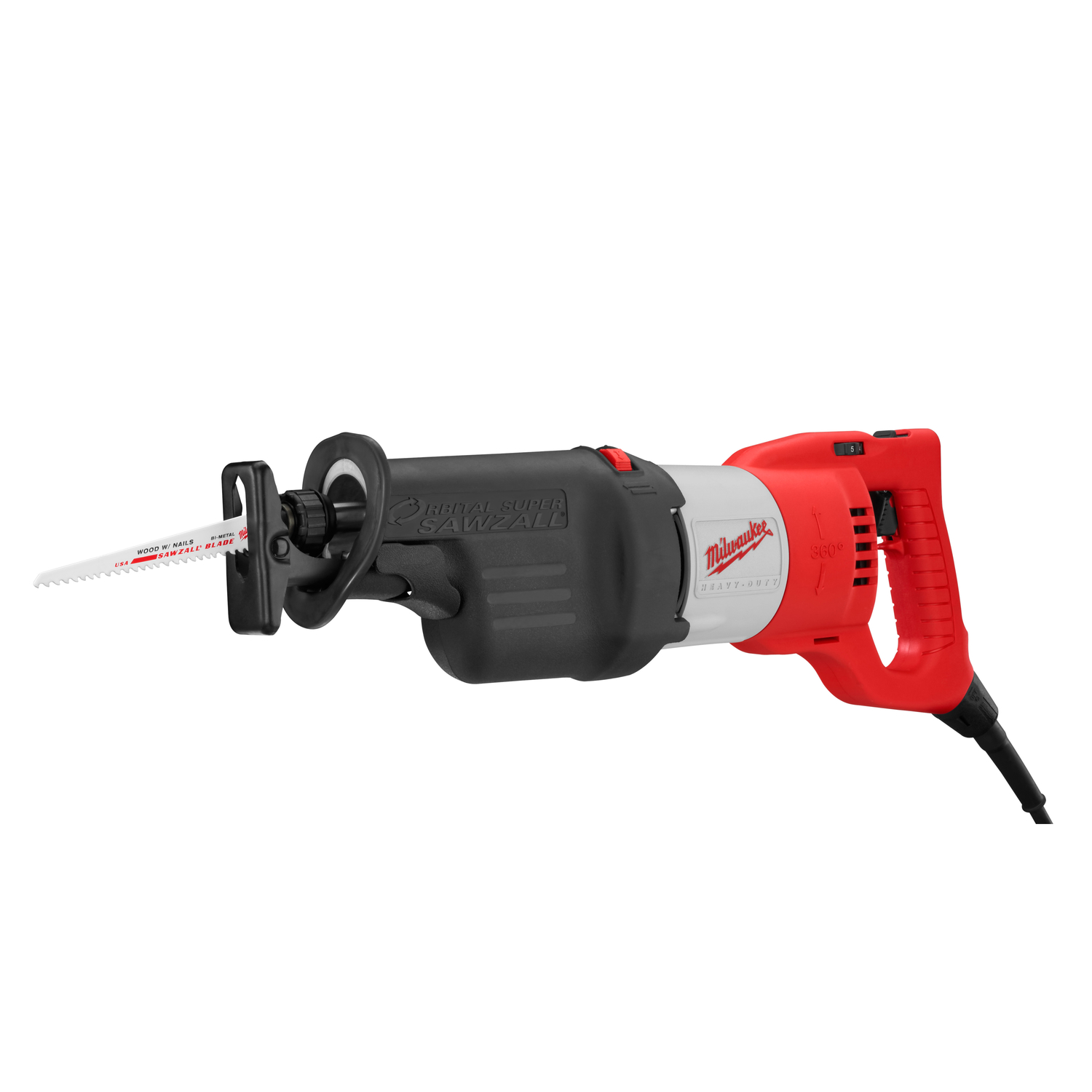 medium resolution of milwaukee super sawzall 1 1 4 in corded orbital reciprocating saw 13 amps