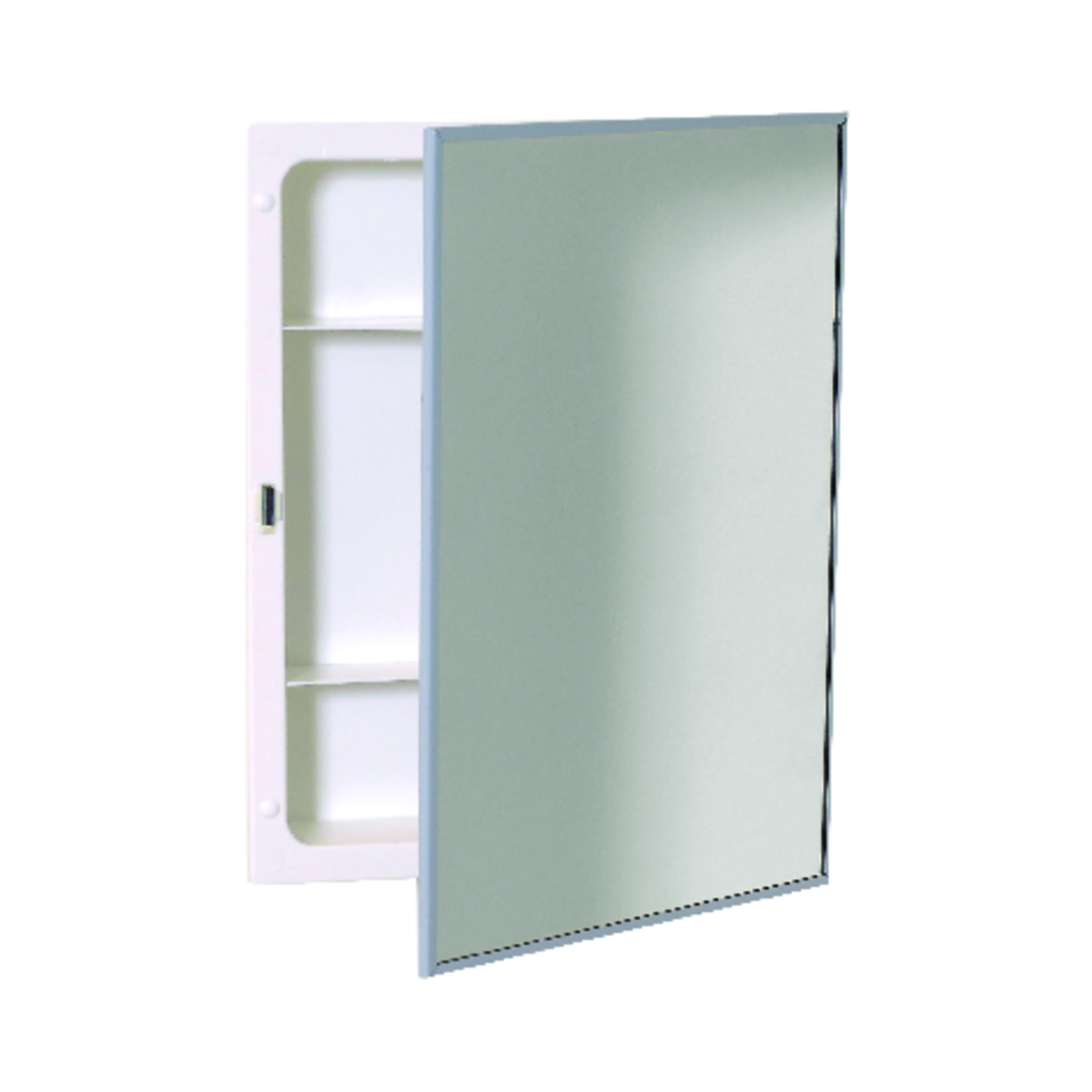 medium resolution of zenith 20 1 8 in h x 16 1 8 in w x 3 25 in d rectangle medicine cabinet ace hardware