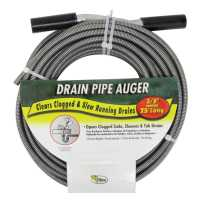 Cobra 3/8 in. Drain Pipe Auger 25 ft. - Ace Hardware