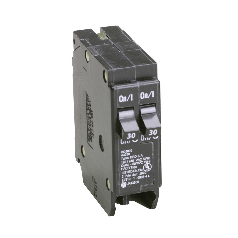 medium resolution of eaton cutler hammer 30 30 amps tandem 2 pole circuit breaker ace hardware