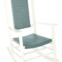 White Wood Rocking Chair Old Fashioned High Jack Post Classic Knollwood Ace Hardware