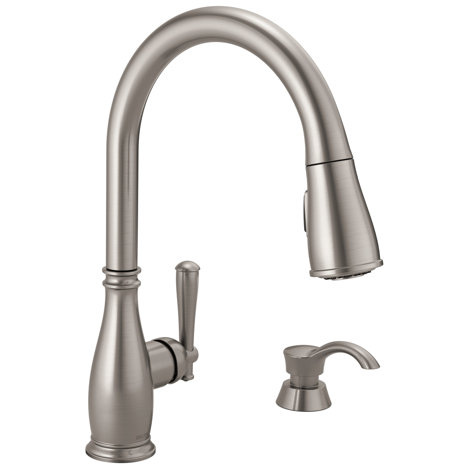 kitchen faucets cheap kidkraft toy sink at ace hardware delta charmaine one handle stainless steel faucet