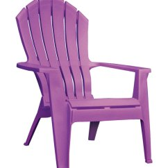 Adams Adirondack Stacking Chair Swing Graco Patio Chairs Deck And Lawn At Ace Hardware Realcomfort Violet Polypropylene