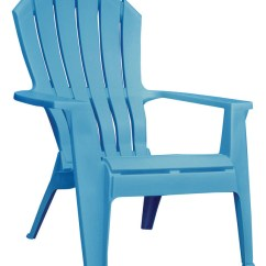 Woven Plastic Garden Chairs Vintage Steelcase Patio Deck And Lawn At Ace Hardware Adams Realcomfort Blue Polypropylene Adirondack Chair
