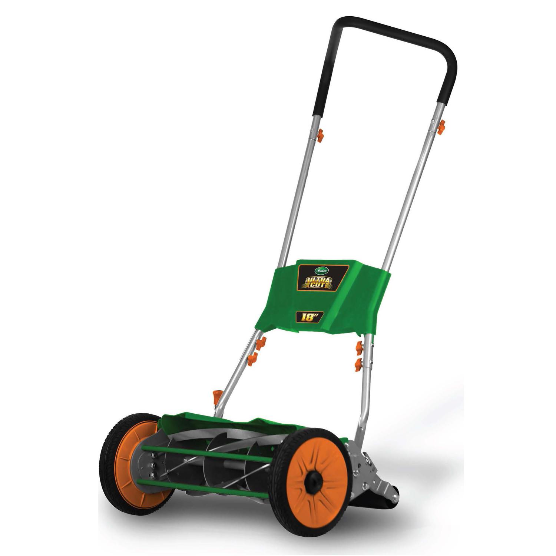 medium resolution of scotts ultra cut 18 in w manual push mulching capability lawn mower ace hardware