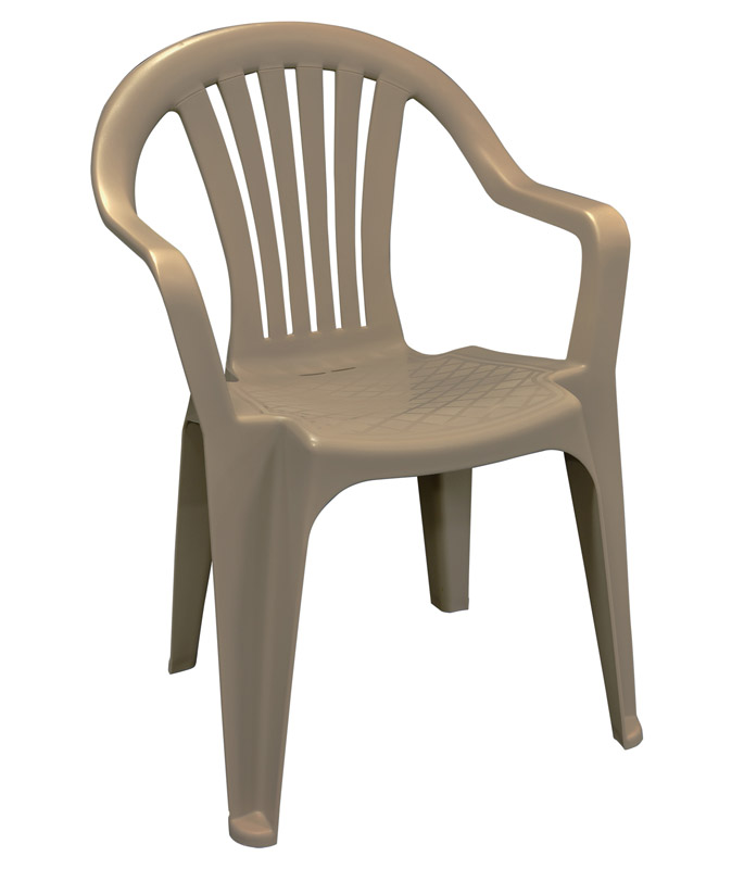 outdoor stackable chairs canada space saving desk chair patio deck and lawn at ace hardware adams brown polypropylene