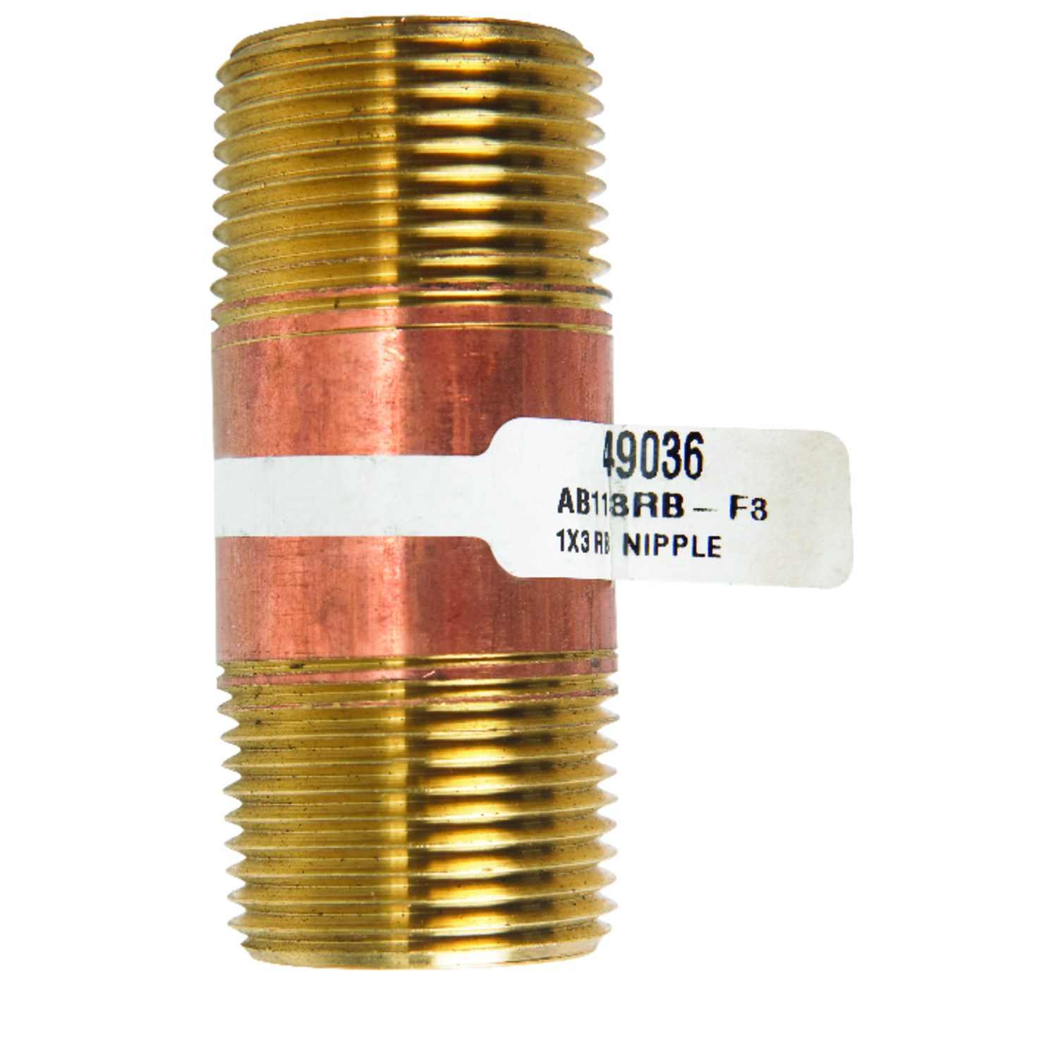 hight resolution of red brass pipe nipple