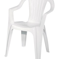 Outdoor Stackable Chairs Canada Jenny Lind High Chair Patio Deck And Lawn At Ace Hardware Adams White Polypropylene