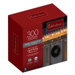 Celebrations Incandescent Clear Warm White 300 Count String Lights 17 Ft Ace Hardware