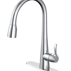 Chrome Kitchen Faucet Gray Floor Tile Faucets Sink At Ace Hardware Oakbrook Vela Pull Down One Handle