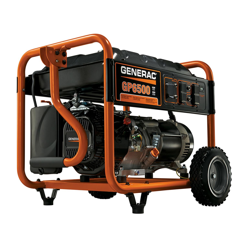 hight resolution of generac 6500 watts 6500 watts portable generator