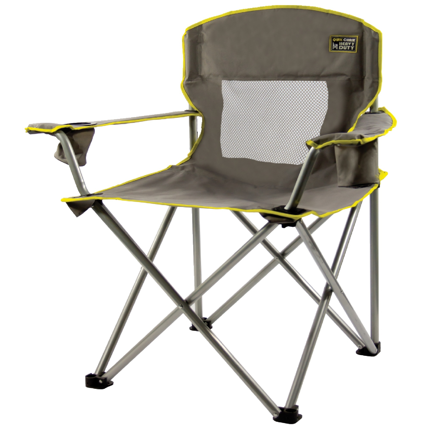 Quik Shade Gray Folding Chair  Ace Hardware