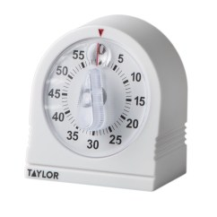 Taylor Kitchen Timer Walnut Cabinets Mechanical Plastic Ace Hardware
