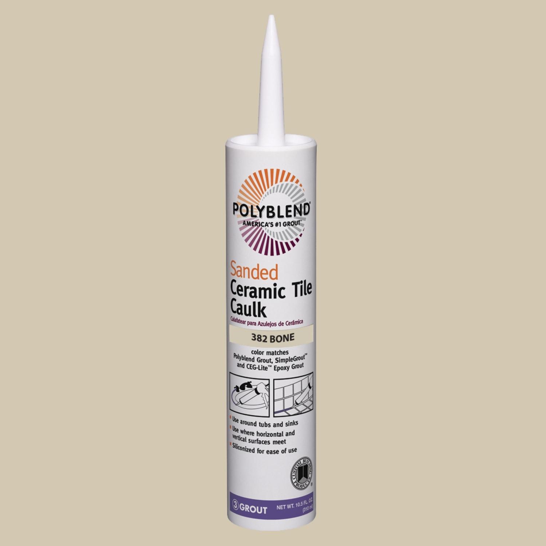 custom building products polyblend bone siliconized acrylic tile caulk 10 5 oz