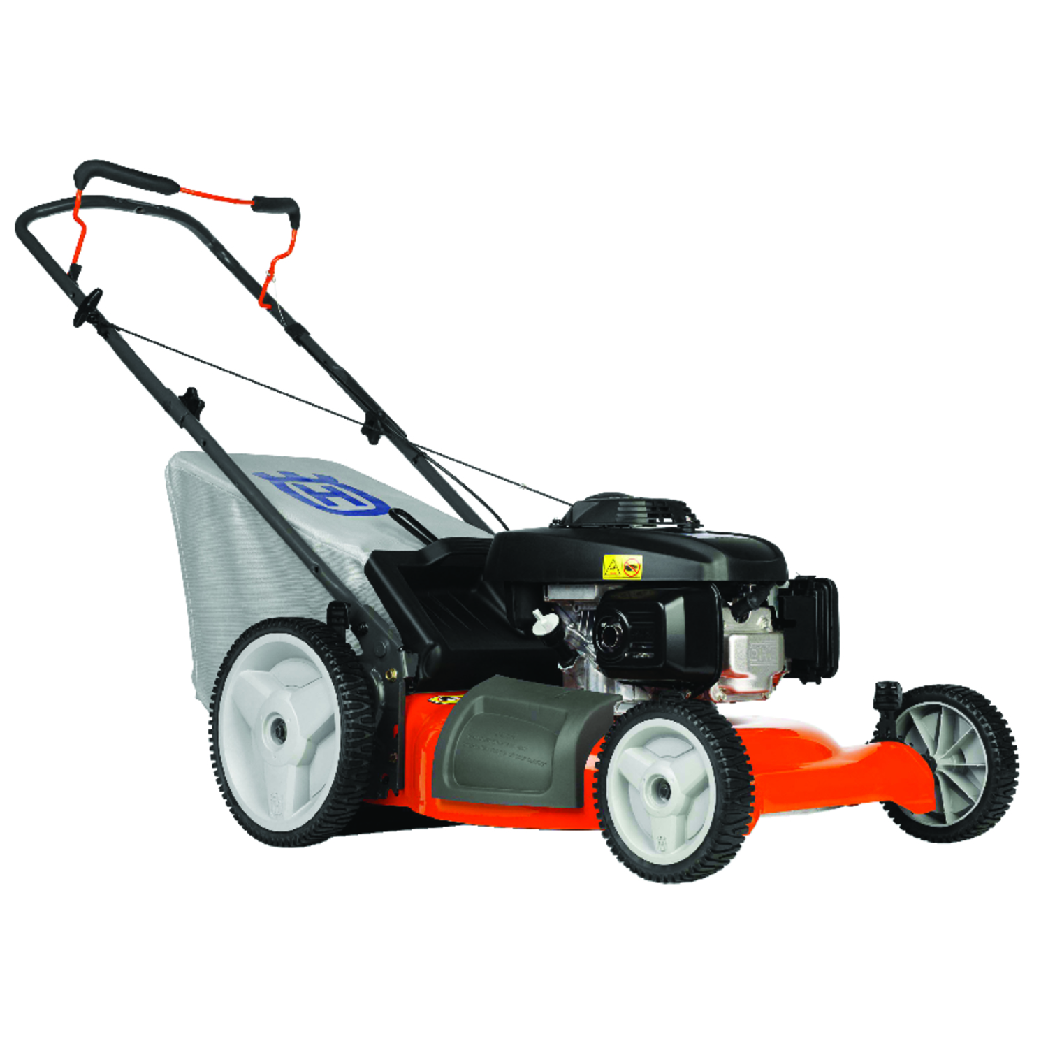 small resolution of husqvarna 7021p 21 in w 160 cc manual push mulching capability lawn mower ace hardware