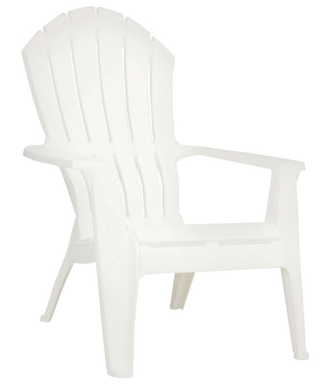 adams resin stacking adirondack chair stand up high realcomfort white polypropylene ace hardware