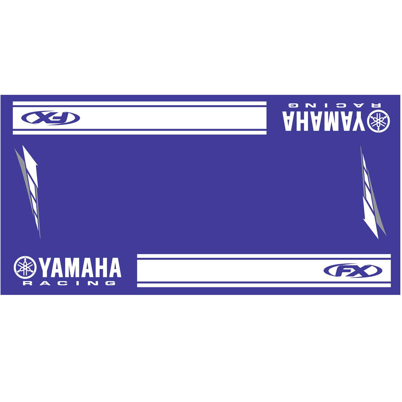 tapis pour moto yamaha racing de factory effex