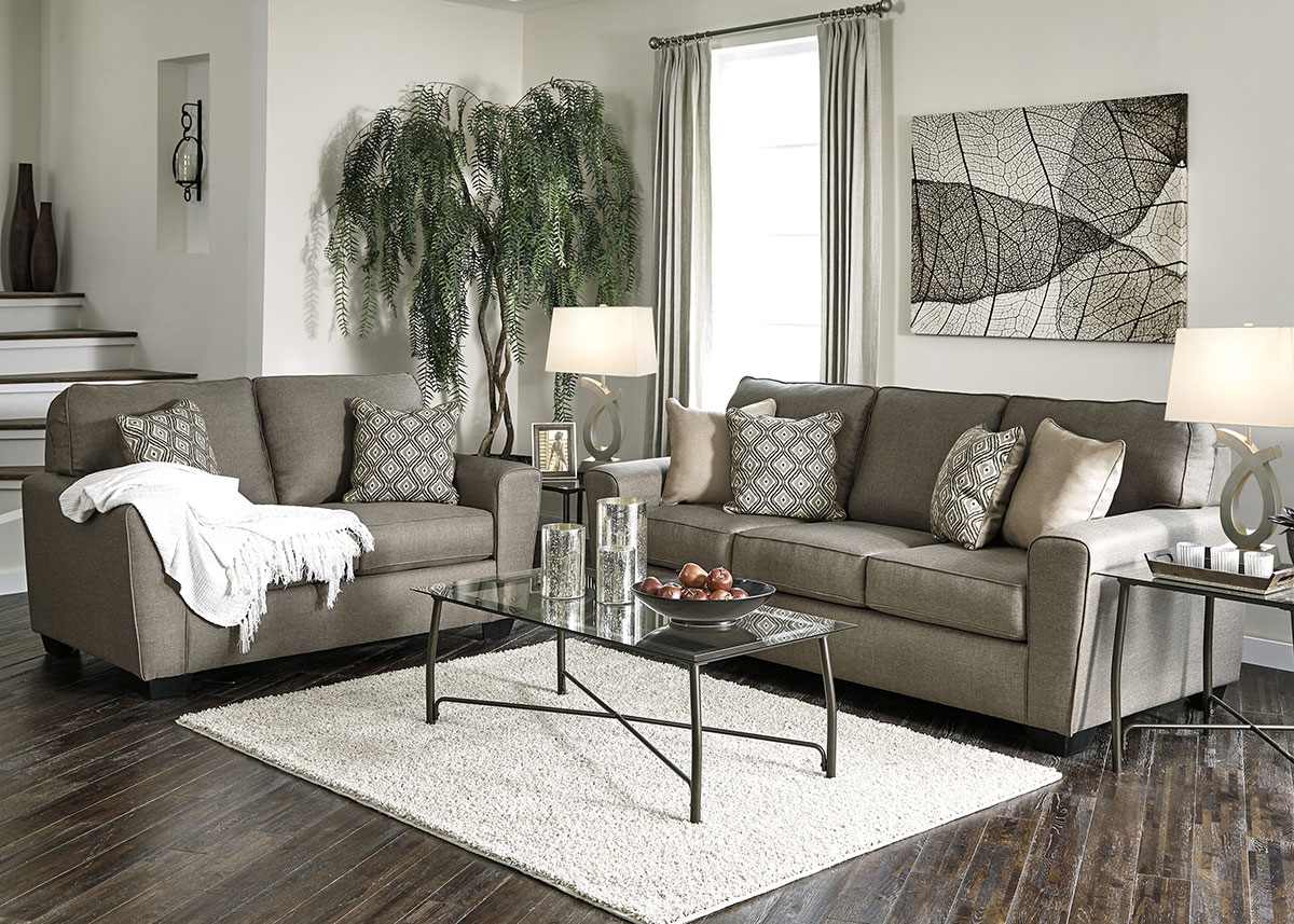 living room furniture indianapolis cabinet for sets chicago the roomplace calico 2 pc sleeper