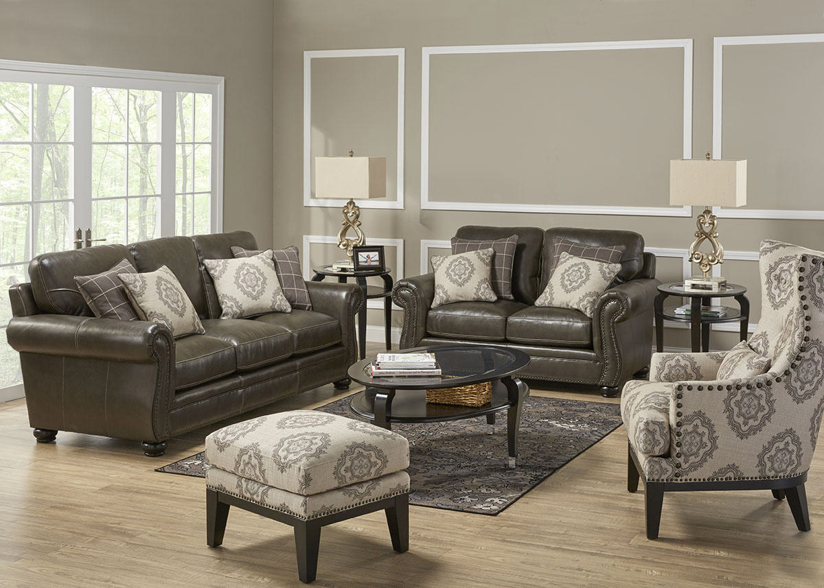 Accent Chair Living Room Isabella 3 Pc Living Room With Accent Chair