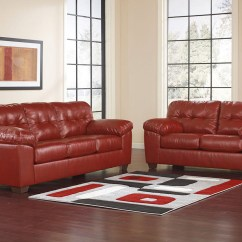 Living Room Furniture Indianapolis Desks Sets Chicago The Roomplace Maxim 2 Pc Red