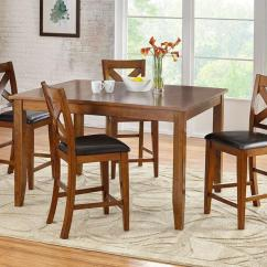 Unique Dining Room Tables And Chairs Christmas Chair Covers Spotlight Sets The Roomplace Delmar 5 Pc Dinette