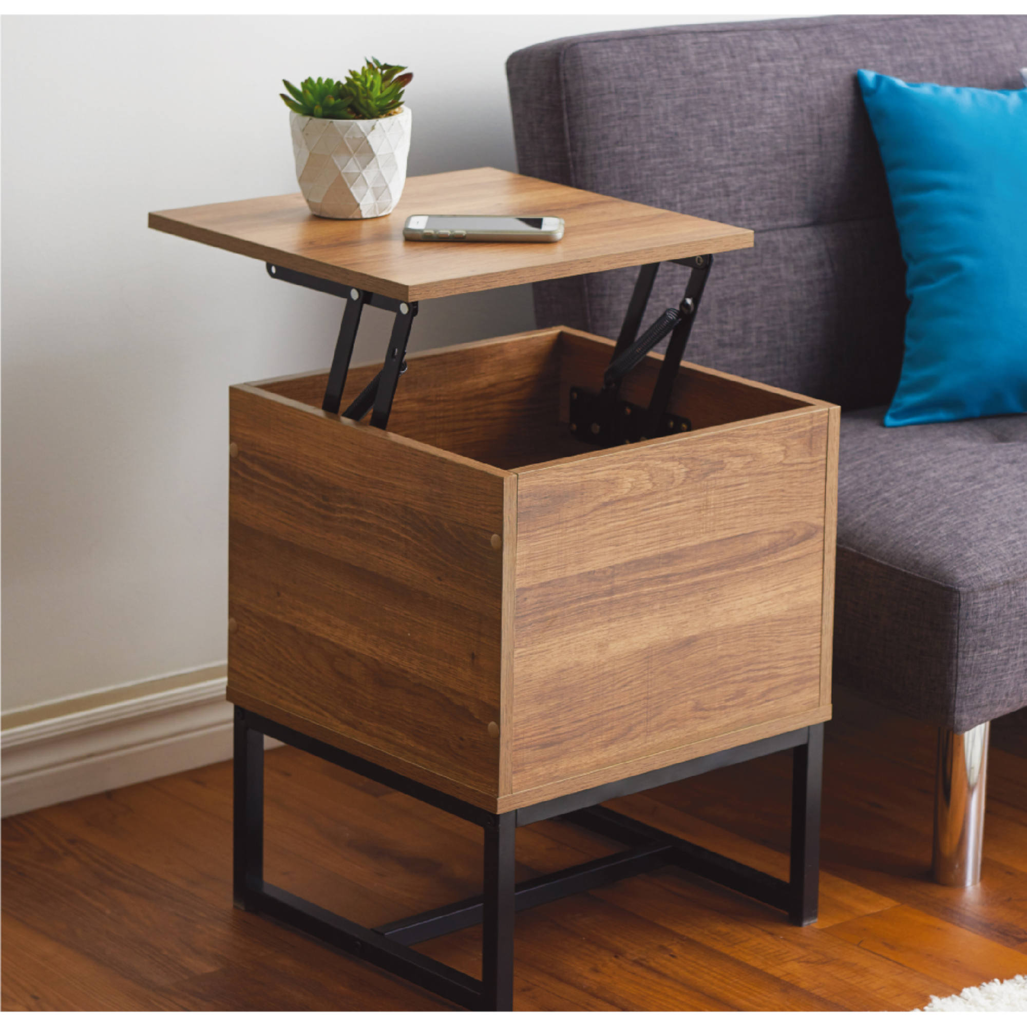 homestyles natural lift top end table