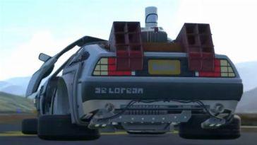 L'image du jour : La DeLorean prend son envol dans Flight Simulator