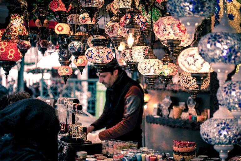 Lamp Store.  Istanbul, Turkey.