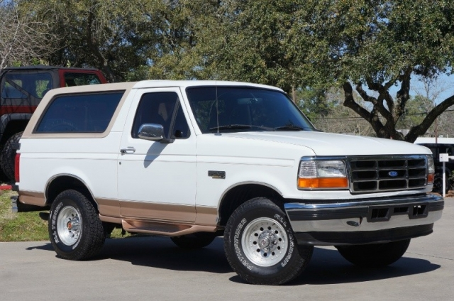 1996 Ford Bronco 105quot WB XL Inventory Select Jeeps Inc