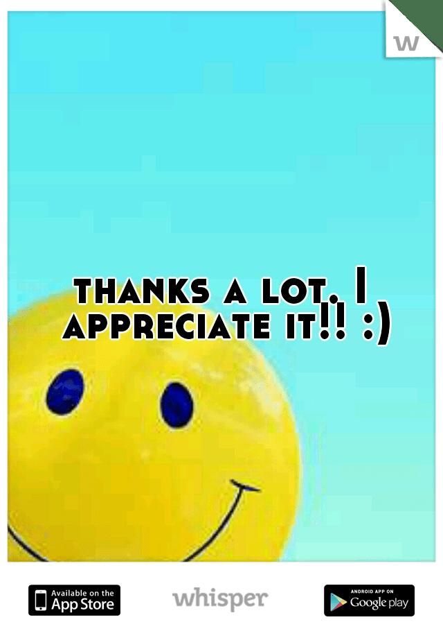 thanks a lot i