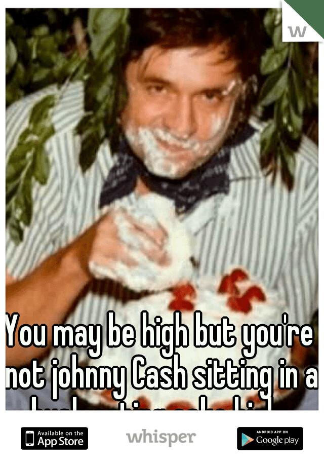 Johnny Cash Cake Bush : johnny, You're, Johnny, Sitting, Eating