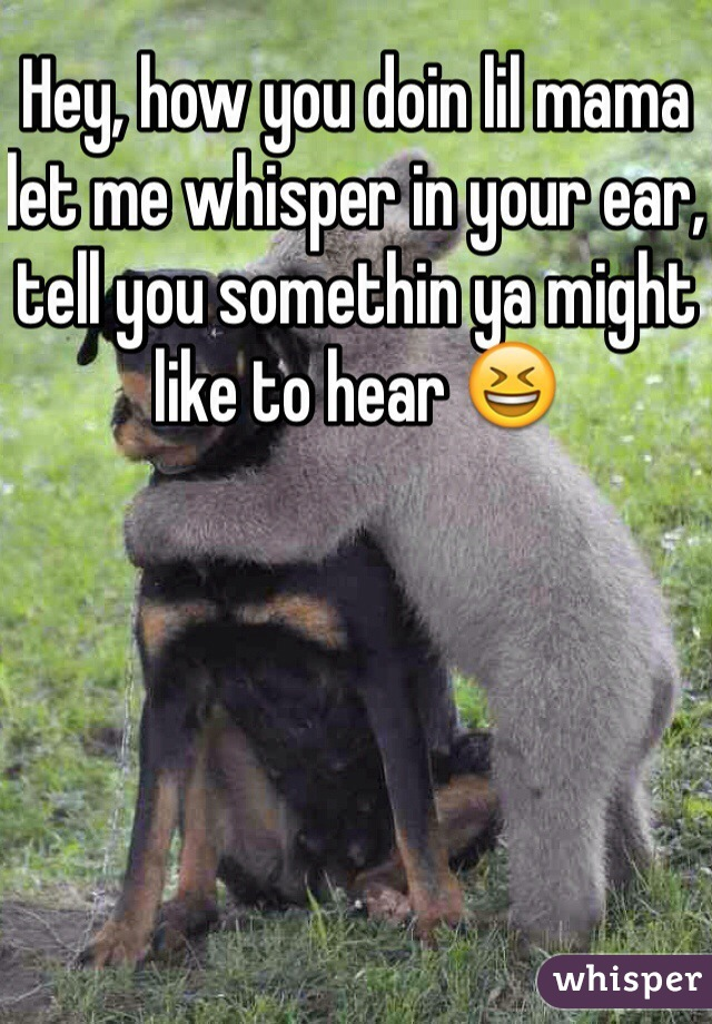 Hey Lil Mama Let Me Whisper In Your Ear Lyrics : whisper, lyrics, Whisper, Painted