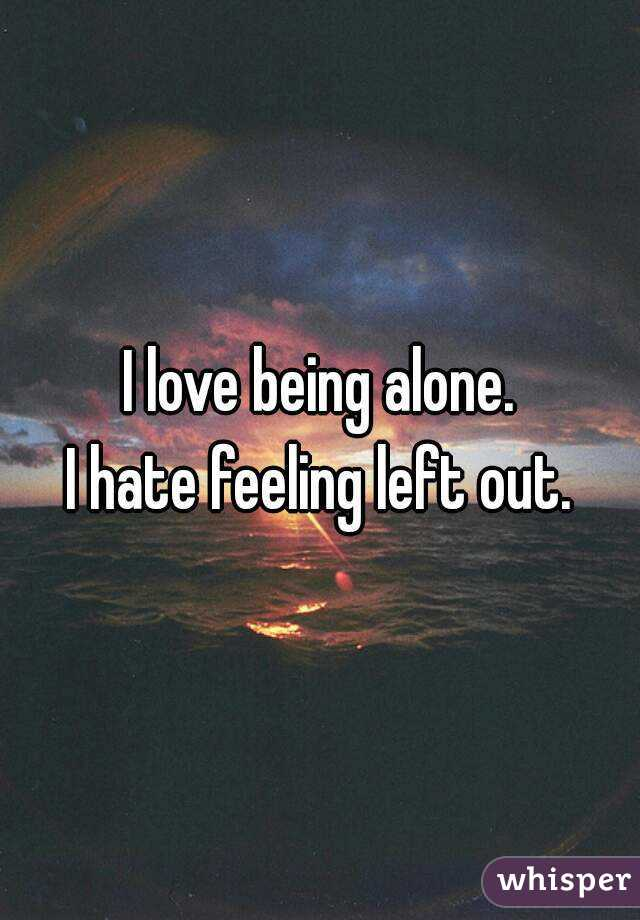 Image result for feeling left out