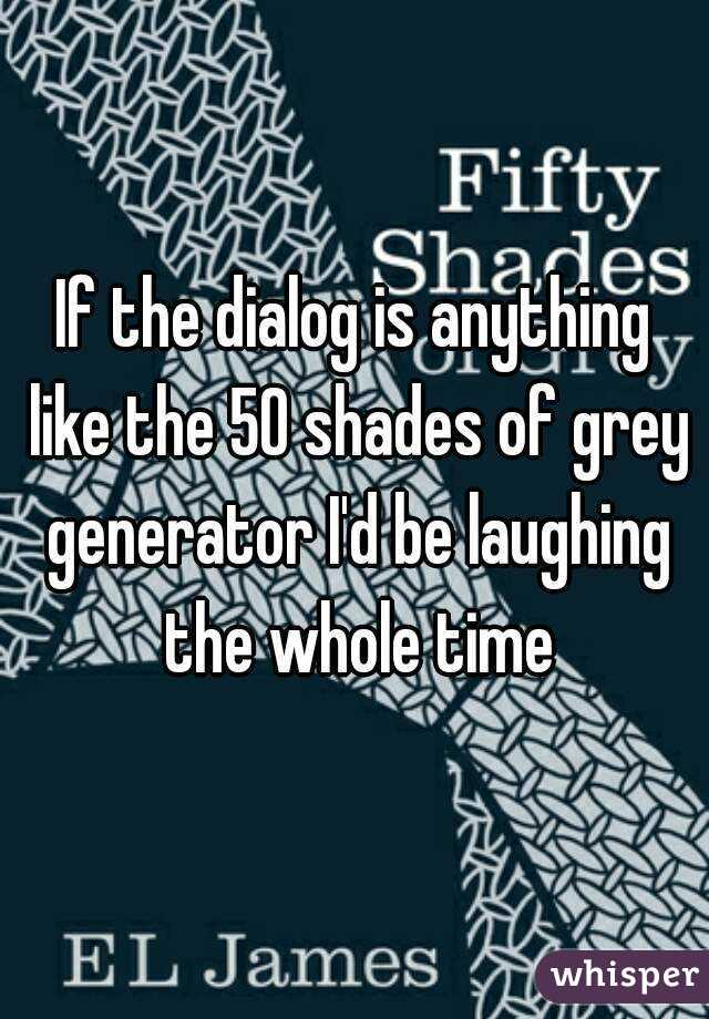 if the dialog is