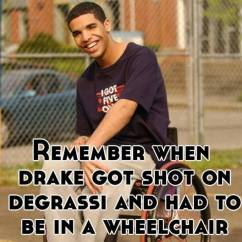 Wheelchair Drake White Living Room Chairs Degrassi Jimmy