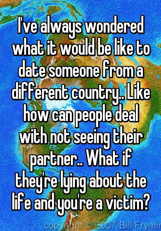 i ve always wondered