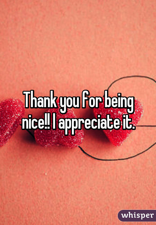 thank you for being