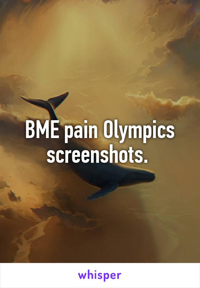 bme pain olympics screenshots