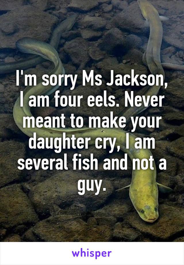 I Am Four Eels :