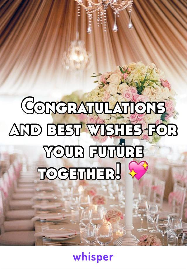 congratulations and best wishes