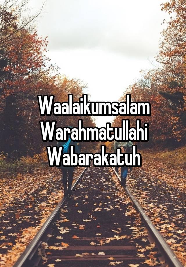 Tulisan Waalaikumsalam Warahmatullahi Wabarakatuh : tulisan, waalaikumsalam, warahmatullahi, wabarakatuh, Waalaikumsalam, Warahmatullahi, Wabarakatuh, Python
