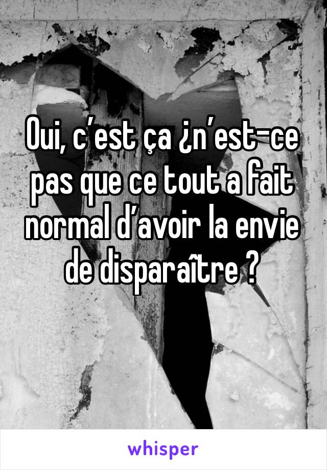 Est Ce Que C'est Normal : c'est, normal, C'est, ¿n'est-ce, Normal