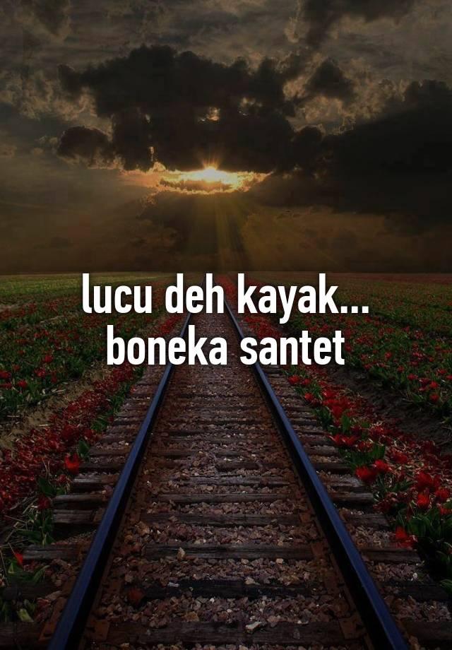 Foto Boneka Santet : boneka, santet, Kayak..., Boneka, Santet
