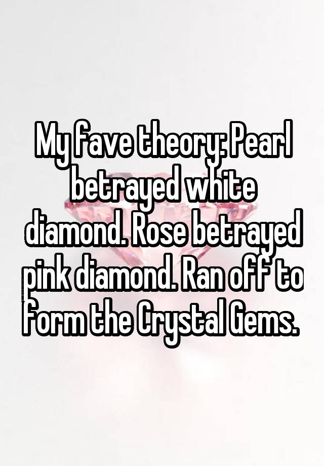 my fave theory pearl
