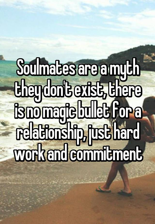 Image result for Soulmates dont exist