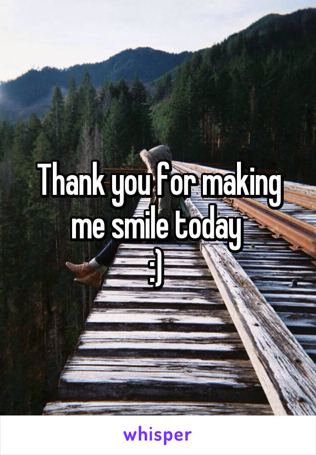 thank you for making