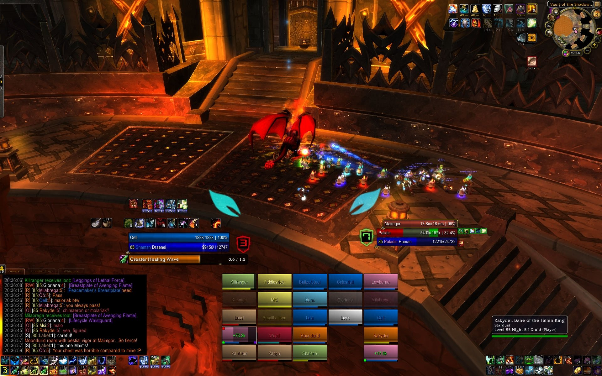 Oell's ui : Healer Compilations : World of Warcraft AddOns