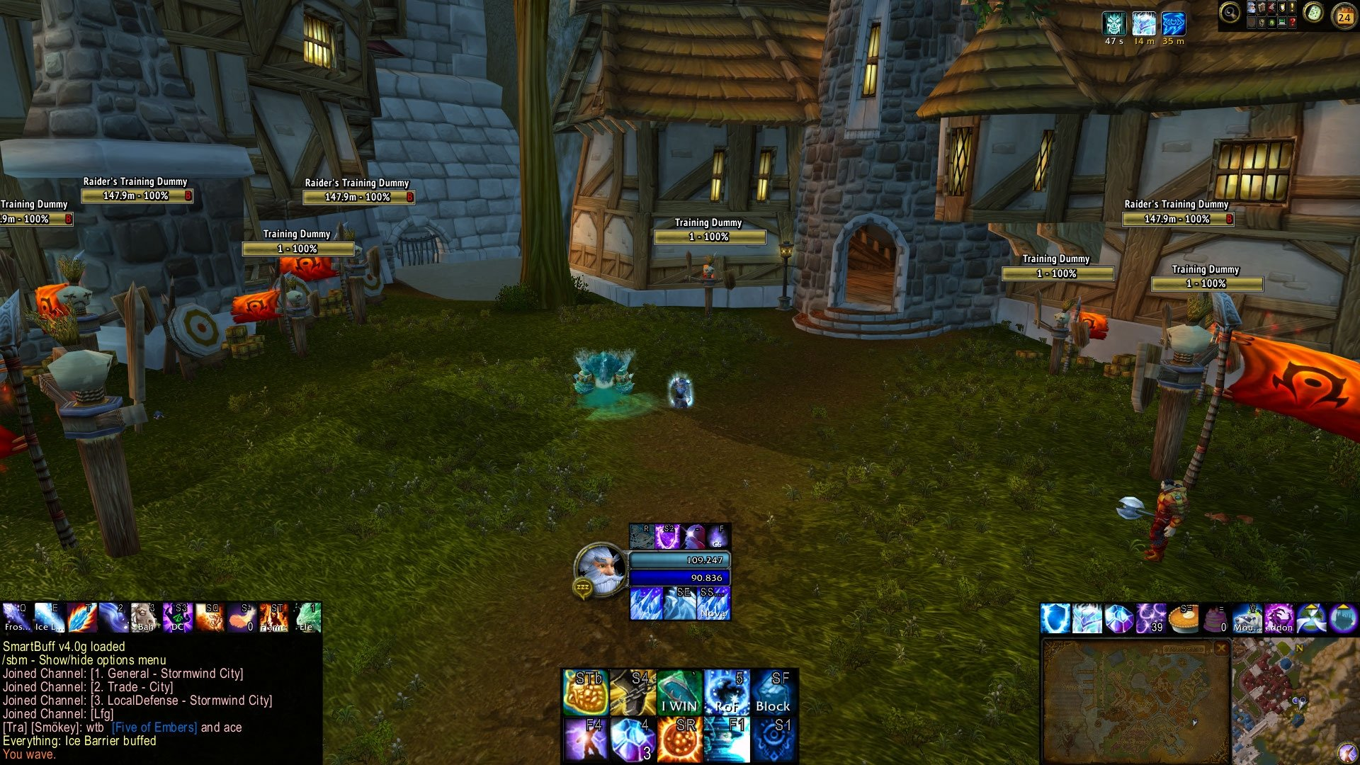 Everything's Mage PvP UI : Class Compilations : World of Warcraft AddOns