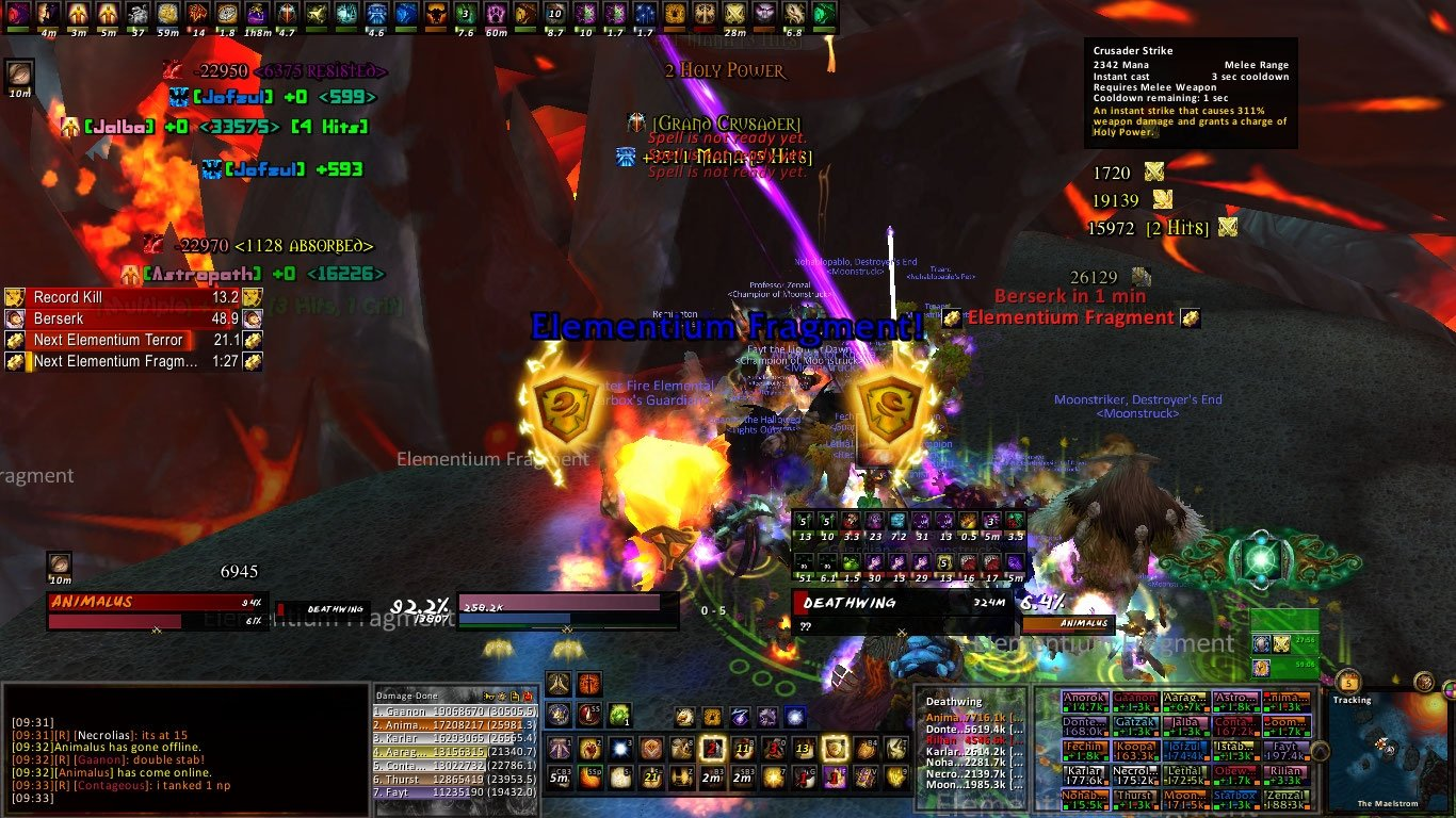Clean Tank UI : Minimalistic Compilations : World of Warcraft AddOns